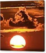 Hot Sunrise 2 Canvas Print