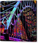 Hot Town Summer In The City Canvas Print