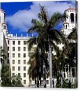 Hotel Nacional De Cuba Canvas Print
