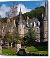 Hotel Tigh Mor Trossachs. Perthshire. Scotland Canvas Print