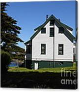 House At Point Reyes Calfornia . 7d16125 Canvas Print
