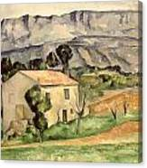 House In Provence Canvas Print