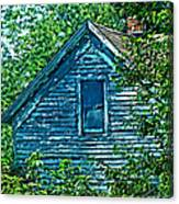 House In The Woods Art Canvas Print
