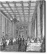 House Of Commons, 1854 Canvas Print