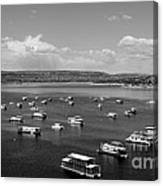Houseboat Community Canvas Print