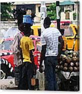How Market Lagos Canvas Print
