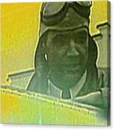Howard Hughes From The Screen Canvas Print