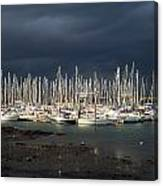 Howth Yacht Club Marina, Co Dublin Canvas Print