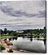 Hoyt Lake Delaware Park 0001 Canvas Print