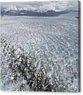 Hubbard Glacier, Gilbert Point Canvas Print