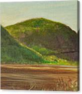 Hudson At Storm King Canvas Print