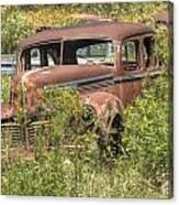 Hudson Sedan Canvas Print
