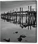 Humboldt Bay Ruins Canvas Print