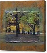 Humboldt Park Trees Layered Canvas Print