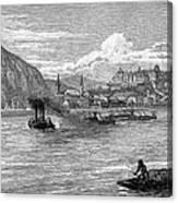 Hungary: Budapest, 1886 Canvas Print