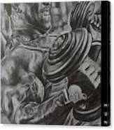 Hunger Canvas Print