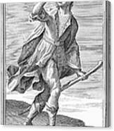 Hunting Horn, 1723 Canvas Print