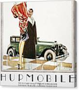 Hupmobile Ad, 1926 Canvas Print