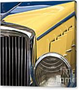 Hupmobile Grille Canvas Print