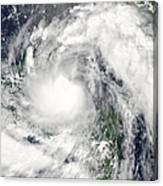 Hurricane Alex Canvas Print