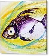 Hurricane Fish 7 Canvas Print