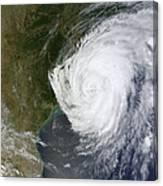 Hurricane Isaac Makes Its Second Canvas Print