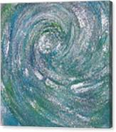 Hurricane Of Light Canvas Print
