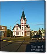 Husavik Iceland Church Canvas Print