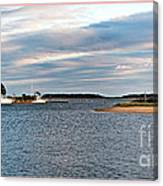 Hyannisport At Sunset Canvas Print