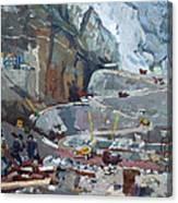 Hydropower Koman Canvas Print