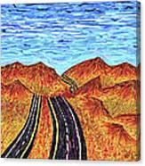I - 15 Nevada To California Canvas Print