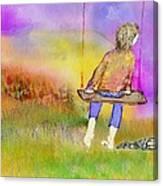 I Am Leaving  Canvas Print