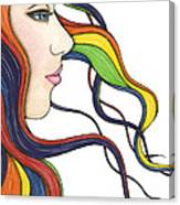 I Am My Own Rainbow Canvas Print