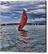 I Am Sailing V2 Canvas Print