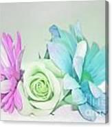 I Dream Of Flowers Canvas Print