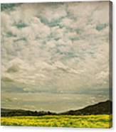 I Just Sat There Watching The Clouds Canvas Print