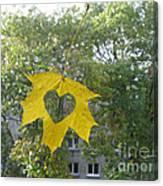 I Love Autumn 02 Canvas Print
