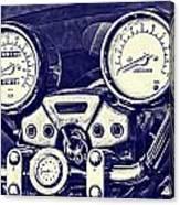 I Love My Bike Canvas Print