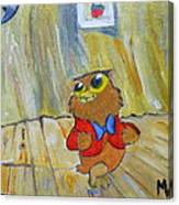 I Love To Singa... Canvas Print
