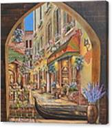 I Love Venice Canvas Print
