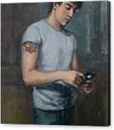 Ian 2009 Canvas Print