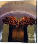 Icarus In The Louis Armstrong International Airport In New Orleans Canvas Print