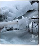 Ice 13 Canvas Print