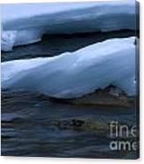 Ice 15 Canvas Print