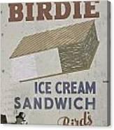 Ice Cream Sandwich Canvas Print