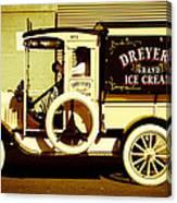 Ice Cream Truck Canvas Print
