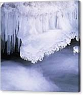 Ice Formations Canvas Print