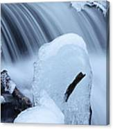 Ice Tombstone Frozen In Time Canvas Print