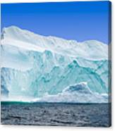 Iceberg Off The Newfoundland Coast Canvas Print