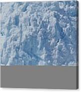 Icebergs Calving From Chenaga Glacier Canvas Print